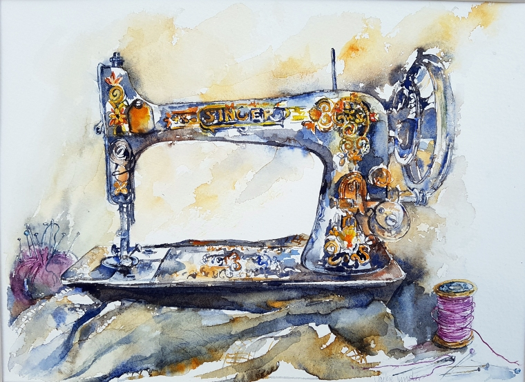 JT236 - Sarah's Sewing Machine